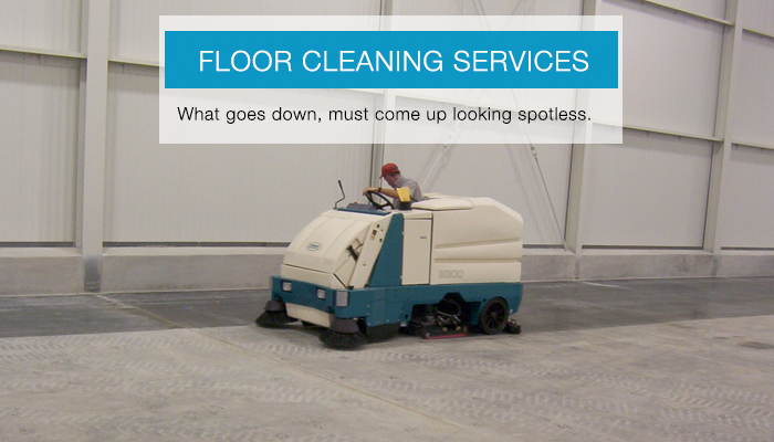 Industrial Facility Floor Cleaning